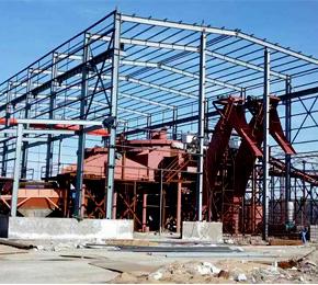 内蒙古100万吨 洗煤成套设备安装现场